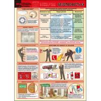 П2-ПБ 594x420 Пожарная безопасность - комплект из 2 плакатов