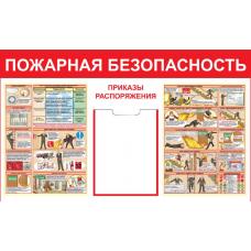 Стенд артикул СТ0301000900 1000x900 Пожарная безопасность