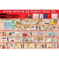 Стенд артикул СТ01810001500 1000x1500 Пожарная безопасность