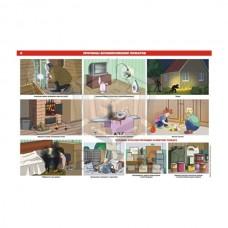 """Комплект из 5 плакатов """"Пожарная безопасность"""""""