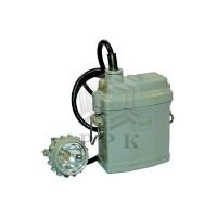 Светильник СГГ 5М 05 ѐмкость батареи 6,6А/ч и 3,3А/ч, вес 0,7кг