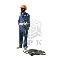 Противогаз шланговый ПШ-1С (маска ШМП) резинотканевый