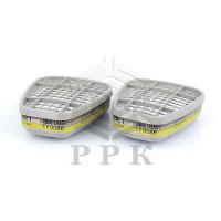 Фильтр 3M™ 6057 Защита от газа и пара