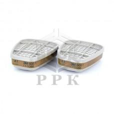 Фильтры 3M™ 6051 Защита от газа и пара
