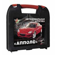 Аптечка первой помощи автомобильная АППОЛО-АВТО (пластиковый чемоданчик)