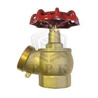 Вентиль пожарный ДУ-65 чугун, угловой 125 гр.