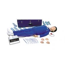 Тренажер для освоения сердечно-легочной реанимации с блоком памяти