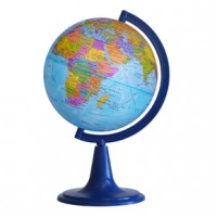 Глобус Земли политический Д-150 на подставке из пластика