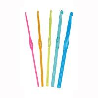 Комплект для вязания крючком (набор крючков и ирис)