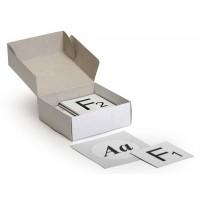 К05 Модель-аппликация Моногибридное скрещивание (набор из 29 карт)15х15, 10х10