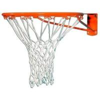 Сетка баскетбольная (белая нить 2,6 мм для кольца)