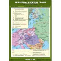Европейская политика России в начале ХIХ века 70х100