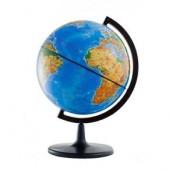 Глобус Земли физический Д-210 на подставке из пластика