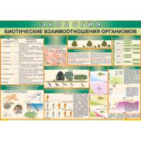 Экология. Биотические взаимоотношения организмов (100х70)