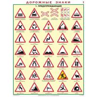 Дорожные знаки (8 пл. лам.)