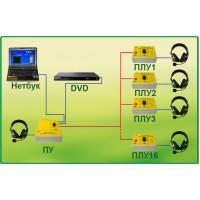 Лингафонная система ЛКФ-102К (с DVD и ноутбуком)