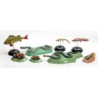 Комплект демонстрационных муляжей Позвоночные животные (8 моделей)