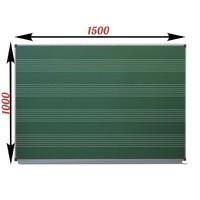 Доска школьная одноэлементная, для письма мелом, с разлинованной поверхностью (нотный стан) 1500х1000