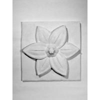 Орнамент № 29 Цветок лотоса (гипс)