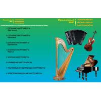 Музыкальные инструменты, таблицы