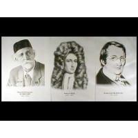 Портреты химиков (16 шт., ф А3)