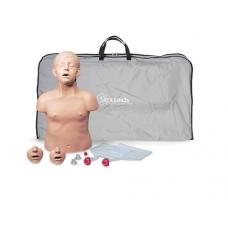 Тренажер сердечно-легочной реанимации ребенка «Brad™ Junior», с электроникой сумкой, 7 лет