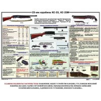 Карабин КС-23, КС-23М (1 пл., 100*70)