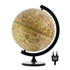 Глобус Луны D 320 с подсветкой  на подставке из пластика