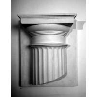 Орнамент Полукапитель Дорическая (гипс)