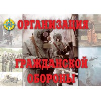 Плакат Организация гражданской обороны (11 плак.)