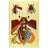 Х08 Внутреннее строение жука (1 планшет, 42х66 см)