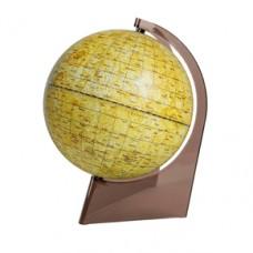 Глобус Луны D 210 на треугольной подставке из пластика