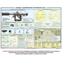 Снайперский прицел ПСО-1 (100х70)