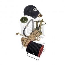 Противогаз шланговый ПШ-20 (маска ШМП) шланг ПВХ