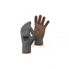 Трикотажные перчатки с ПВХ точками